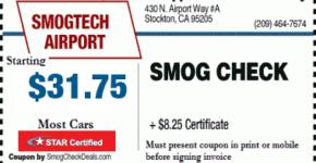 smog coupons stockton ca